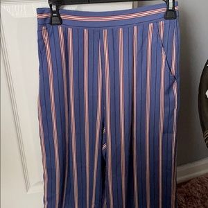 Boutique striped flowy pants